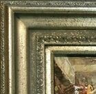 "5"" WIDE antique Silver Oil Painting Picture Frame 446AS frames4art"