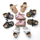 Newborn Baby Girl Soft Sole Crib Sequins Shoes Anti-slip Sneaker Prewalker 0-18M