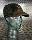 Genuine German Army Flectarn Camouflage Peak Baseball Cap / Hat. All Sizes - NEW