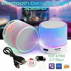speakers usb - LED Portable Mini Bluetooth Speaker Wireless Bass Speaker With TF USB FM Radio