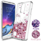 For LG Cell Phone Motion Liquid Quicksand Glitter Flexible Rubber Case TPU Cover