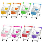 Mini Supermarket Shopping Handcart Trolly Cart Storage Toy Container