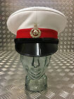 Genuine British Royal Marines RM Peaked Dress Cap / Captains Hat - All sizes