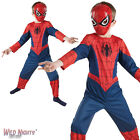 FANCY DRESS COSTUME ~ BOYS MARVEL CLASSIC SPIDER-MAN AGE 2-8 YEARS