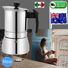 NEW 2 4 6 9 CUP BIALETTI MOKA Espresso Coffee Maker Percolator Perculator Stove
