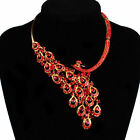 Women's Rhinestone Necklace Earring Set For Wedding Cocktail Party US STOCK NEW