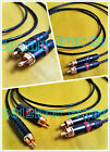 1pair RCA Audio phono hifi cable AMP CD Interconnet wire japan Made Copper Gold