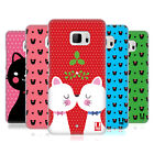 HEAD CASE DESIGNS CHRISTMAS CATS HARD BACK CASE FOR HTC U ULTRA