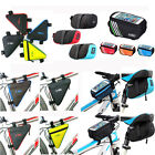 Bicycle Bike Cycling Front Tube Frame/Seat Saddle/Phone Case Holder Pouch Bag