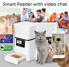 NEW Automatic Pet Feeder Dog Cat Food Control Iphone Android Smart Program Auto1