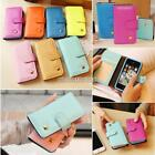 Synthetic Leather Flip Wallet Case Cover for Apple iPhone 5 5S 01