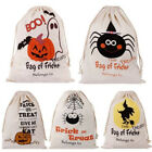 Halloween Candy Handbag Shopping Cotton Canvas Tote Bag Shoulder Bags
