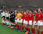 ENGLAND v WEST GERMANY 1966 WORLD CUP LINE UP 01 PHOTO PRINTS OR MUGS