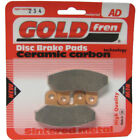 Front Disc Brake Pads for SYM Joyride 125 2003 125cc  By GOLDfren