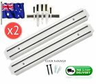2x Magnet Wall Mount Knife Holder Utensil Magnetic Shelf Rack Kitchen Tool NEW 2