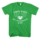 THIS GIRL LOVES ST. PATRICK DAY IRISH ST PATRICK Unisex Adult T-Shirt Tee Top