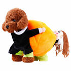Pet Small Dog Cat Clothes Carrying Pumpkin Costume Puppy Apparel Jacket Coat US
