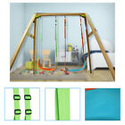 Children Portable Outdoor Hanging Tree and Playground set Swing Chair 2 Colors