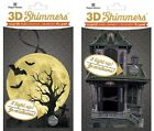 U CHOOSE Paper House 3D Shimmers MOONLIGHT - HAUNTED HOUSE Lights Up! HALLOWEEN