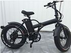 BPM F-15 Fat Tire Electric 20' E Bike Bicycle 500W 48v LED  Folding high Quality