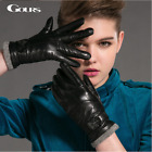 new genuine leather gloves women's driving ladies woman's dresses soft gloves