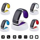 New Bluetooth V3.0 Smart Watch LED Display Rechargeable Handsfree Music Arch 01