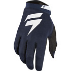 Shift MX (made by Fox) White Label Air Gloves, Navy, NIB!