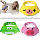Useful Soft Toddler Baby Bath Hat Shower Shampoo Visor Hats Wash Hair Shield Cap