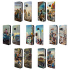 OFFICIAL LONELY DOG SUMMER LEATHER BOOK WALLET CASE COVER FOR HTC PHONES 1