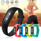 Run Step Watch Bracelet Pedometer Calorie Counter Electronic LCD Walk Distance