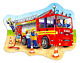 Big Fire Engine Jigsaw Puzzle 20 Chunky Pieces Ages 3-6 Orchard Toys Kids Game