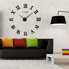 Modern 3D Frameless Wall Clock Watch Hours DIY for Living Room Home Decorations