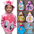 Kids Girls Baby Hoodie My Little Pony Wing Toddler Hooded Sw