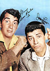 JERRY LEWIS 01 WITH DEAN MARTIN SIGNED PHOTO PRINTS