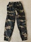 NWT Men's Ablanche Woodland Green Camouflage Camo Jogger Pants ALL SIZES S-XL