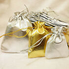 Organza Wedding Party Favor Candy Bag Jewelry Packing Gift 10/20pcs 3 Sizes CAJR