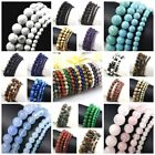 Kyпить Natural Gemstone Round Bead Bracelet Elastic Bangle wholesale 4mm 6mm 8mm 10mm  на еВаy.соm