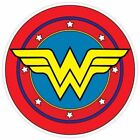 Wonder Woman Logo Vinyl Sticker Batman Car Wall Decal Dawn o