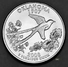 2008 P OKLAHOMA STATE QUARTER UNCIRCULATED CLAD UNITED STATES 50 STATE QUARTERS