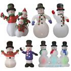 ELECTRIC SELF INFLATING SNOWMAN LARGE OUTDOOR CHRISTMAS FIGURE STATUE DECORATION