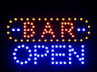 """nled072-b BAR OPEN LED Neon Sign 16"""" x 10"""""""