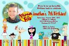 Phineas and Ferb Birthday Invitation - 3 Designs