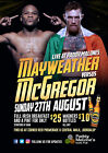 FLOYD MAYWEATHER v CONOR McGREGOR BOXING 24 POSTER PHOTO PRINT