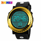 SKMEI Mens Military Army Waterproof Sport Analog Digital LED Quartz Wrist Watch