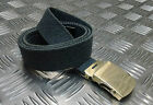"Genuine British RAF No2 Trousers Belt 1¼"" Roll Buckle RAF Blue/Grey - Grade 1"