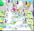 Birthday 1st Theme Blue/Boy Tableware Party Decoration UK.