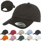 Yupoong Unstructured Dad Hat Dad's Cap 6245CM LOT OF 12 HATS Wholesale