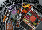 MAMBI Soft Spoken HALLOWEEN themed dimensional stickers~Awesome!!~Fast ship!