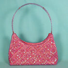 Evening Bag Purse Beaded Sequins Handle Colors Prom Bridal Wedding Party- P465