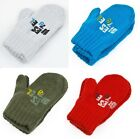 Baby Boys Winter Mittens By Diesel Knitted Nexmob 0-12 Months NEW